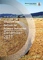 Cover of December 2017 Situation and Outlook for Primary Industries report