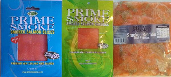 Prime Smoke Brand Smoked Salmon Products Nz Food Safety