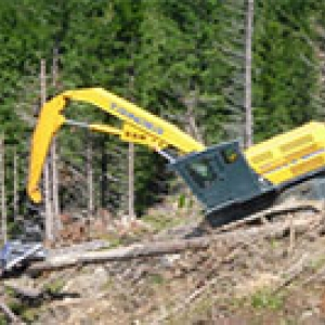 climax steep slope harvester