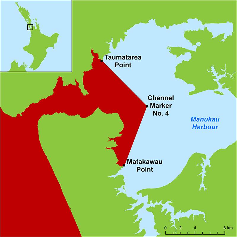 r200235 Comms Map Manukau Harbour