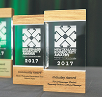 Biosecurity Awards 2017 Awards Display 200x190