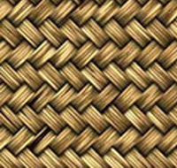 close up of woven material