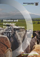 Cover of June 2017 Situation and Outlook for Primary Industries report
