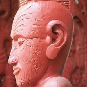 Maori carved head SMALL